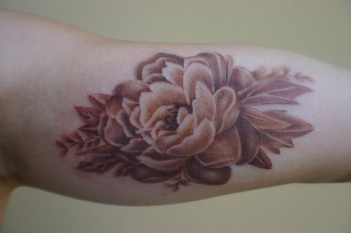 next possible tattoo, sepia color, but Philippines flower