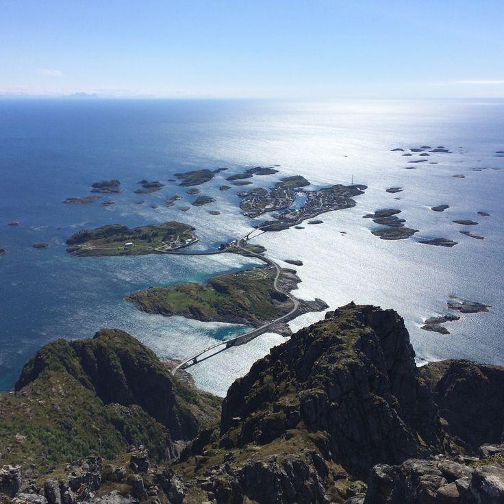 Festvågtindeb. Lofoten. Norway