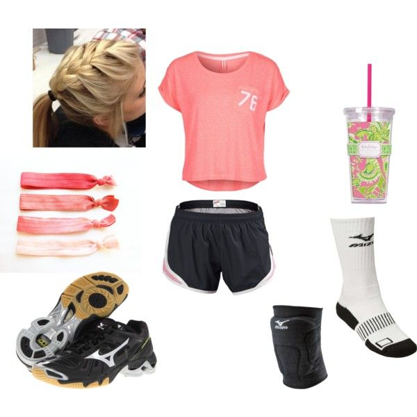 """volleyball practice"" by esings-j on Polyvore"