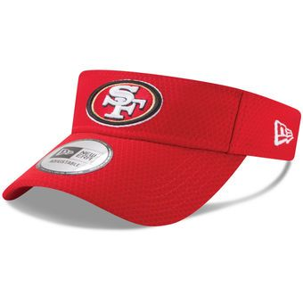San Francisco 49ers New Era 2017 Training Camp Official Visor - Scarlet