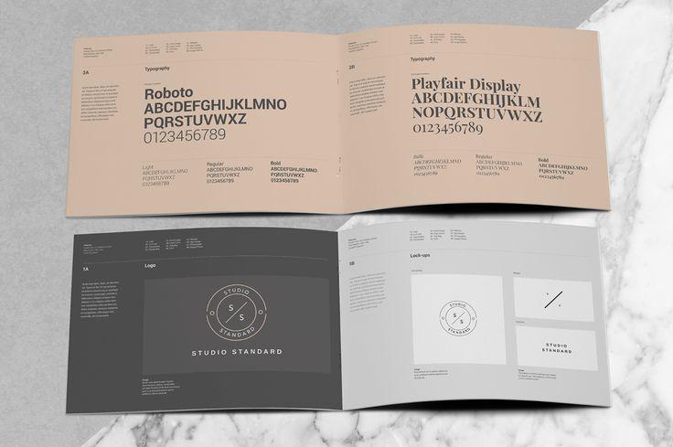 Palermo Brand Manual by Studio Standard on @creativemarket