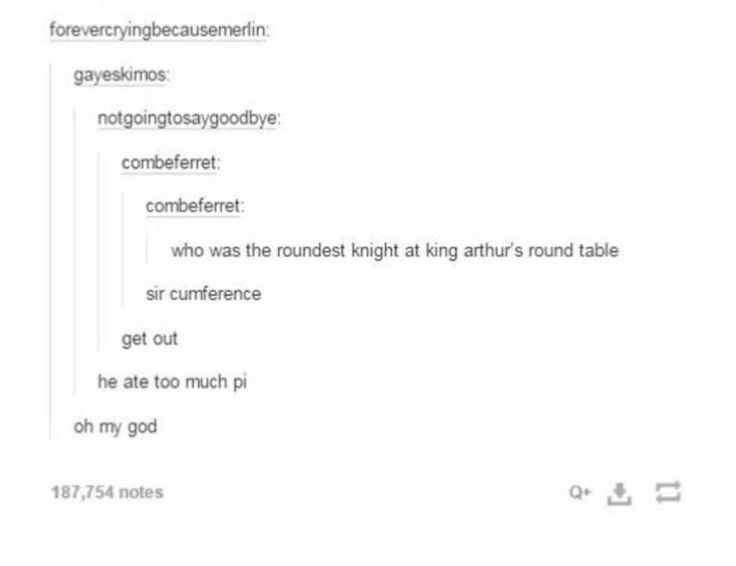 Knights of the round table: