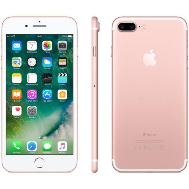 Iphone 7 plus 128 gb rose gold usato ricondizionato