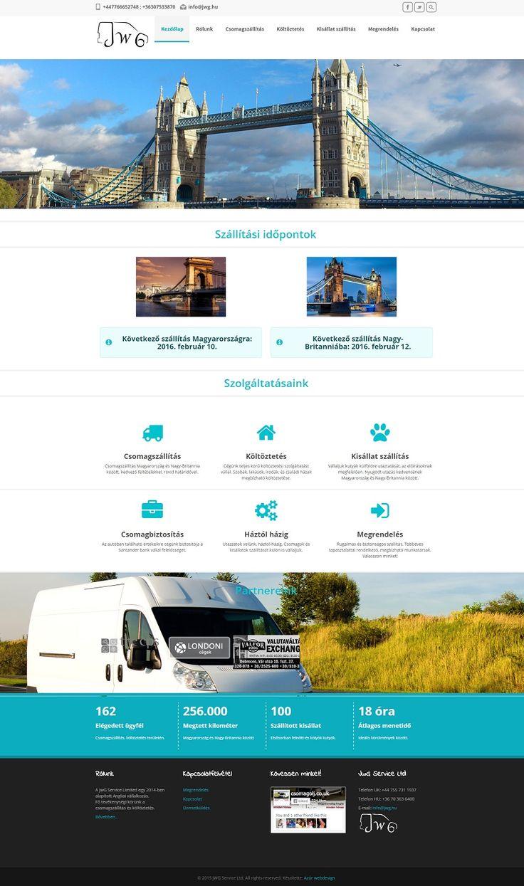 Csomagszállítás Anglia-Magyarország: http://jwg.hu/