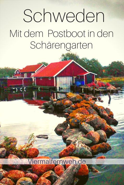 Das ist Büllerbü-Schweden pur. Wir fahren mit Postmann Bengt in den Schärengarten Västerviks an der schwedischen Ostküste. #Schweden #Sweden #ReisenmitKind #Familienreise #Reise