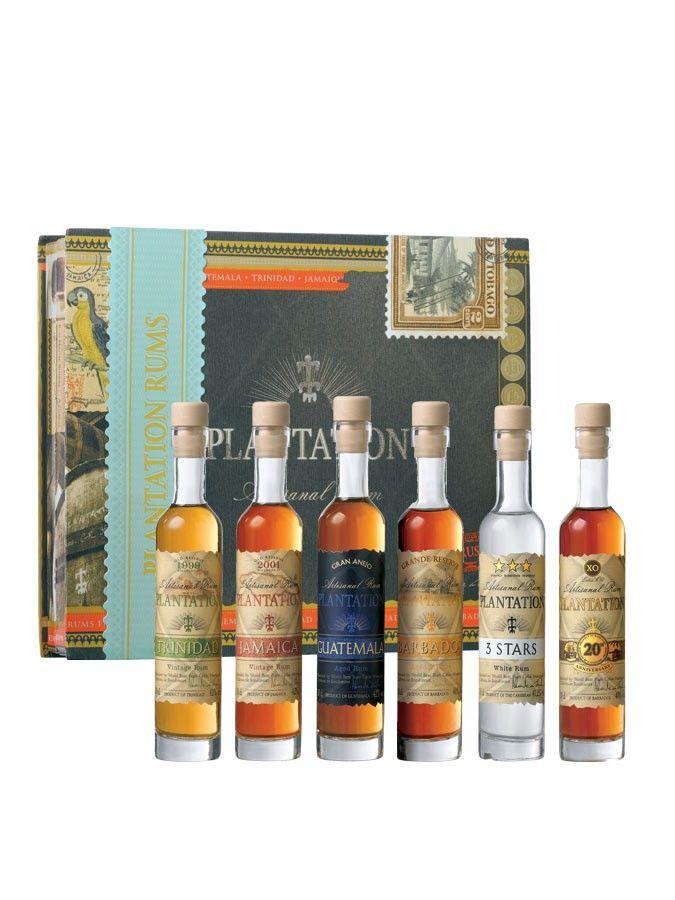 Rhum PLANTATION RUM Coffret Degustation 6 x 10 cl 41,5% - La Maison du Whisky