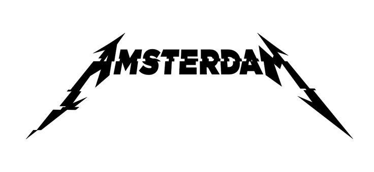 Metallica Amsterdam Logo