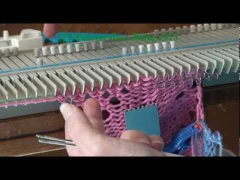 Artes Manhas e Artes Minhas - Tricô À Máquina - Tutoriais: 107) Tricô à Máquina FIO GROSSO - Doily or Wash/Dishcloth - Tricô Redondo ou Godê - by Roberta Rose Kelley