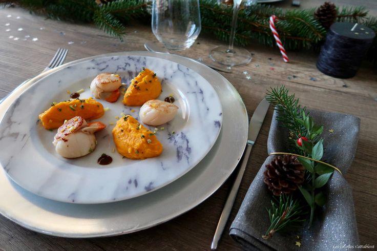 Cette semaine nous vous présentons notre recette de noix de Saint-Jacques aux agrumes