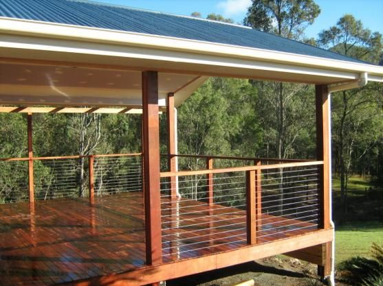 Elegant Covered Deck Designs 2