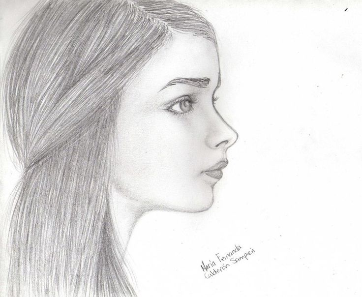 Side Face Line Drawing : The best ideas about side face drawing on pinterest