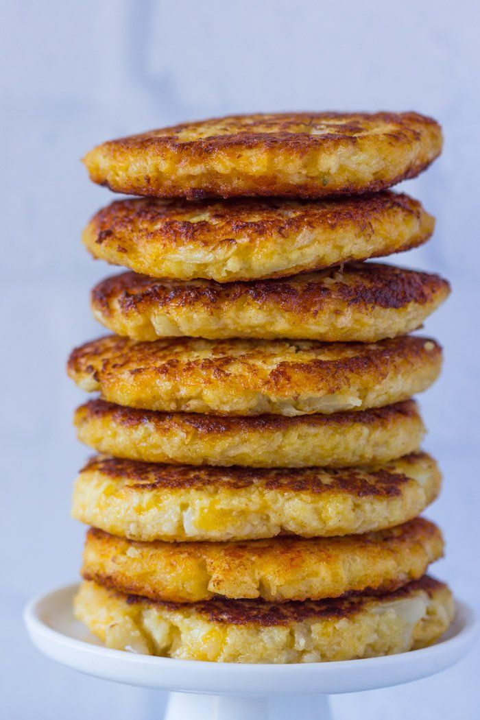 Crispy on the outside, cheesy on the inside. These cauliflower cheddar fritters are packed full of vitamins and are delicious.Ever since I began making cauliflower totsand cauliflower pizzamy fam…