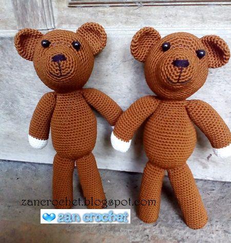 Teddy Bear - NL Translation ~ Zan Crochet