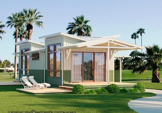 523 sq' beach house!