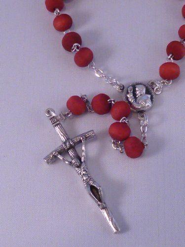 Wood Rosary ~ Perfumed ~ Padre Pio
