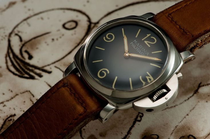 Panerai vintage Marina militar, sometimes simple is king :), with another strib it'll be awesome