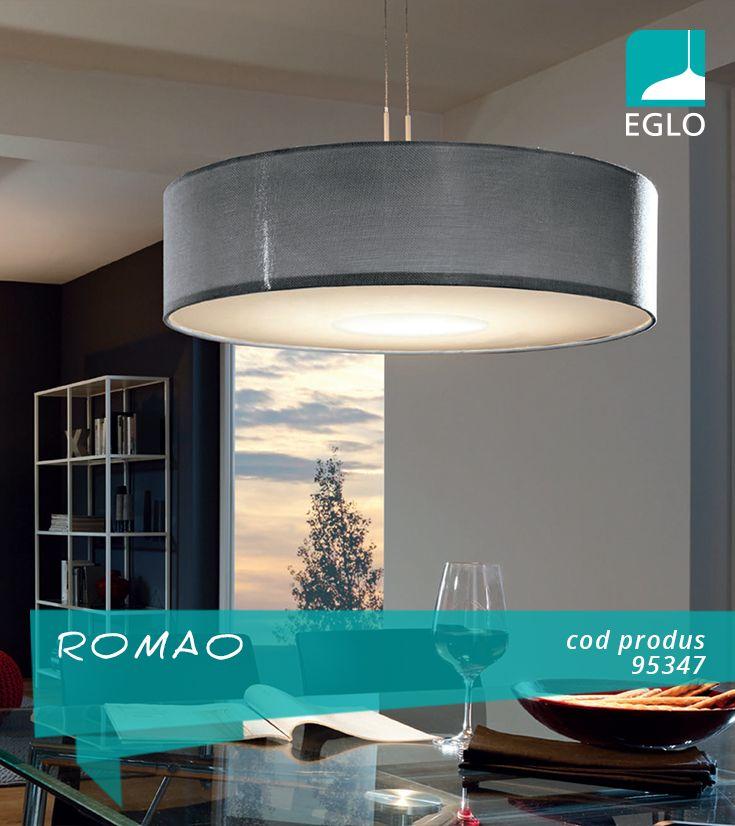 ROMAO, un corp de iluminat pentru bucătărie cu un diametru mare, reprezintă soluția ideală atunci când vă doriți o masă bine iluminată.