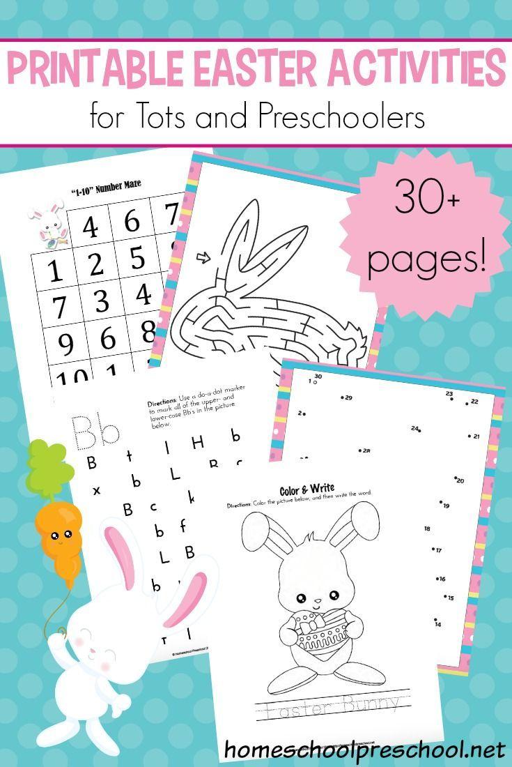 Easter Activities For Preschoolers Printable Easter Activities Easter Activities Easter Preschool [ 1100 x 735 Pixel ]