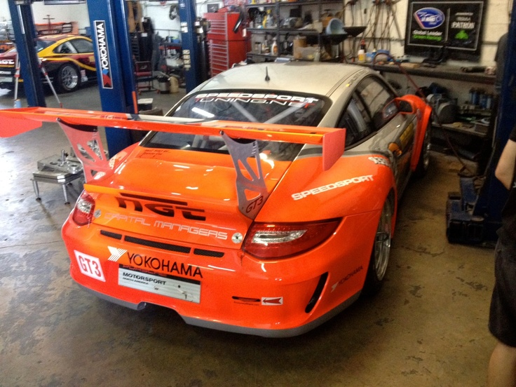 Axis GT3 Getting ready for battle in Sebring  More wing?