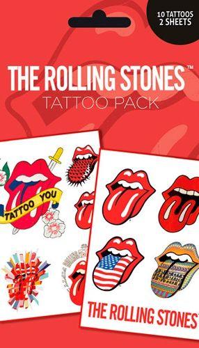 Pochette de TATOUAGES TEMPORAIRES - Rolling Stones