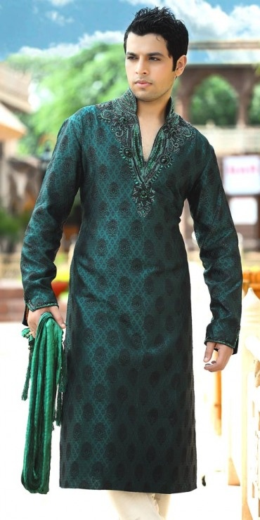 Maybe for Amit's cousins without the low neck line -- in this dark green or in dark blue