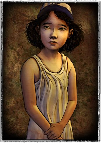 The Walking Dead game - Clementine. Brilliant character from a brilliant series! Look forward to the new one!