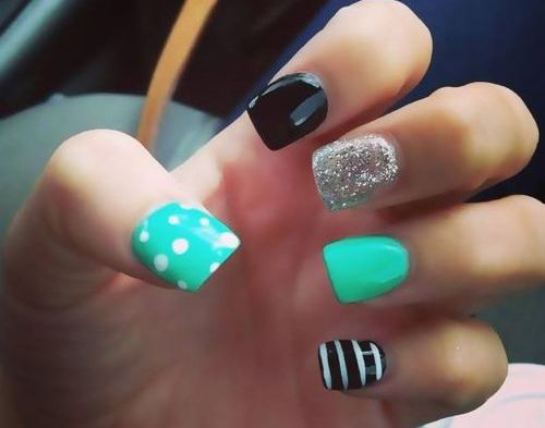 So cute nail design,#nail #nails ,click to see More Cute Nail Art Designs Ideas