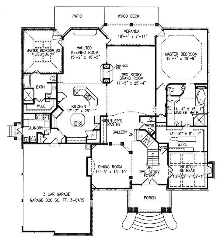Pics On luxury master suite plan