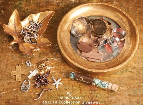 Nunn Design's $75 Giveaway of Fall 2014 Jewelry Supply Collection - The Beading Gem's Journal | This giveaway is international. It ends in a week's time at 6 pm EST Monday, December 8, 2014