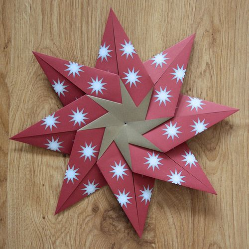 Carmen's Star - Craft set by Kalami, via Flickr