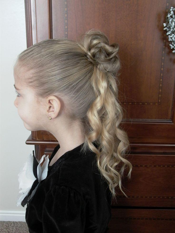 Amazing 1000 Ideas About Little Girl Updo On Pinterest Girl Hair Girl Short Hairstyles Gunalazisus