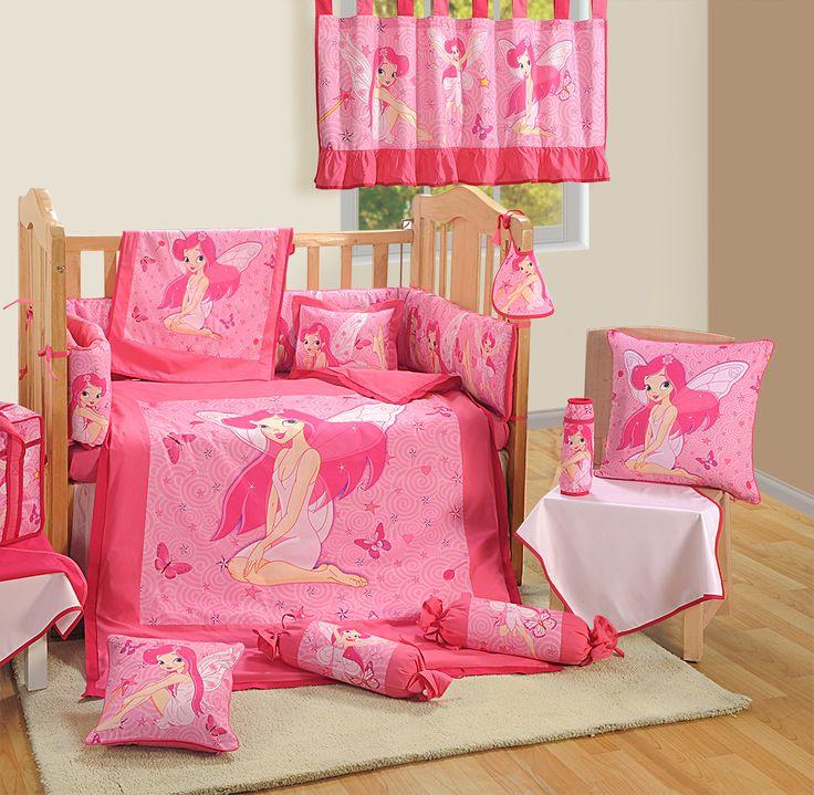 "First Dreams "" Tinker bell "" | Buy @ inhoma.de #Inhoma #Baby #Beds #BabyBettwäsche #Bettwäsche #Girls"