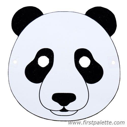 Panda Bear Mask And Other Free Printable Animal Masks
