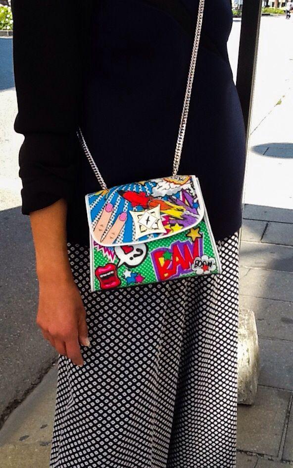 Leplas bag #newcollection #bags #ipnostyle #ipnosiabbigliamento #Argenta  www.ipnosiabbigliamento.it