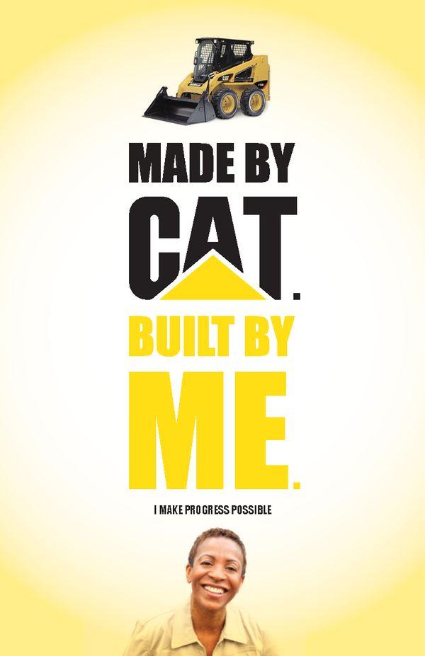 I Heart My Cat - Employee branding for Caterpillar on Behance