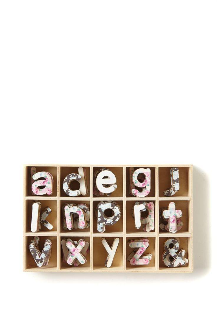 get crafty letter box | Typo