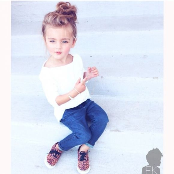 stylish kids in beautiful clothes