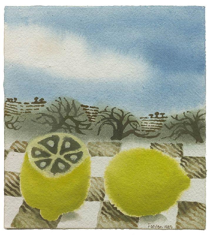 Mary Fedden | Two Lemons