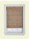 Woven wood shades bring the feeling of nature indoors. These shades can be made from bamboo, rattan, sisal and jute grasses, and other faux woven wood patterns. Woven wood shades are available in a variety of colours and textures.