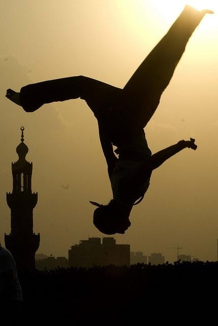 Parkour | Shadows and Silhouettes | Pinterest