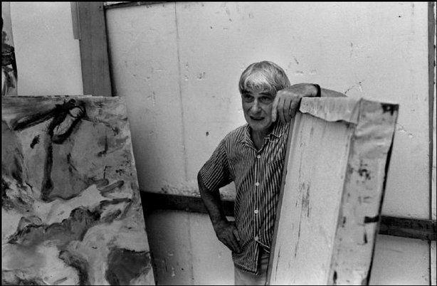 EAST HAMPTON, N.Y.—Willem de Kooning, 1970. © Martine Franck / Magnum Photos