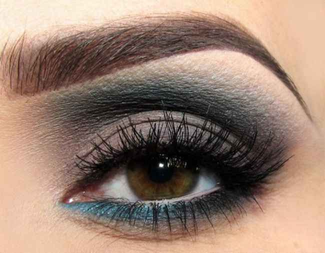 cool Dumanlı göz makyajı