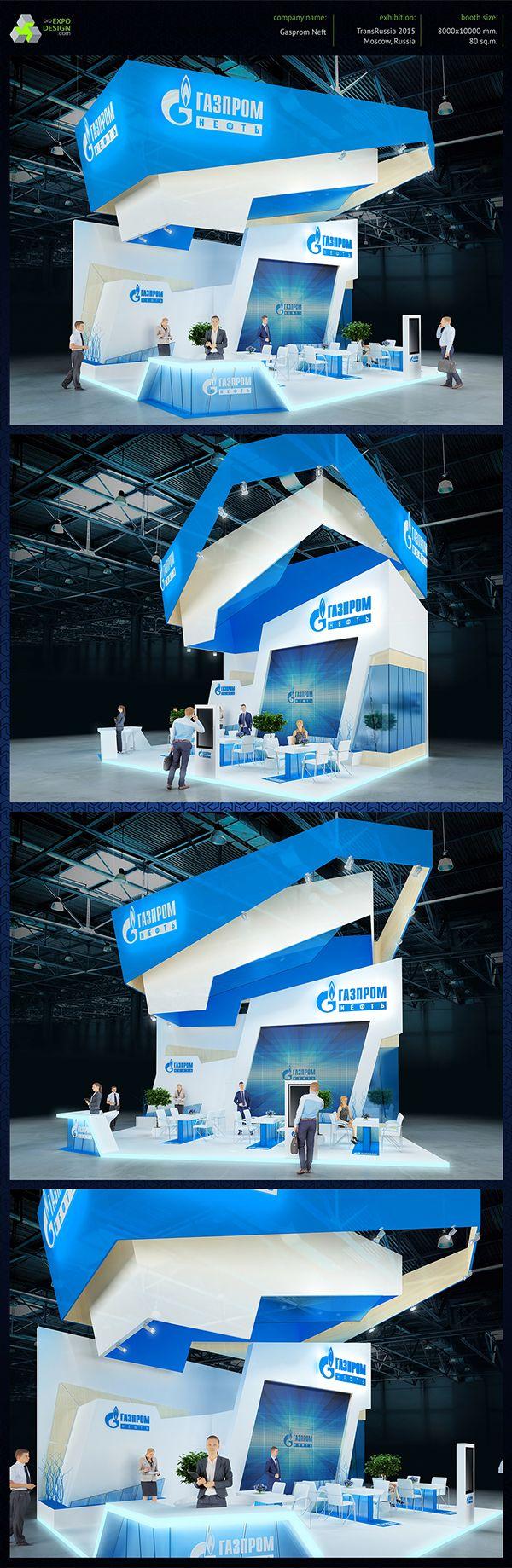 Exhibition Booth Behance : Gazprom on behance exhibition booth pinterest