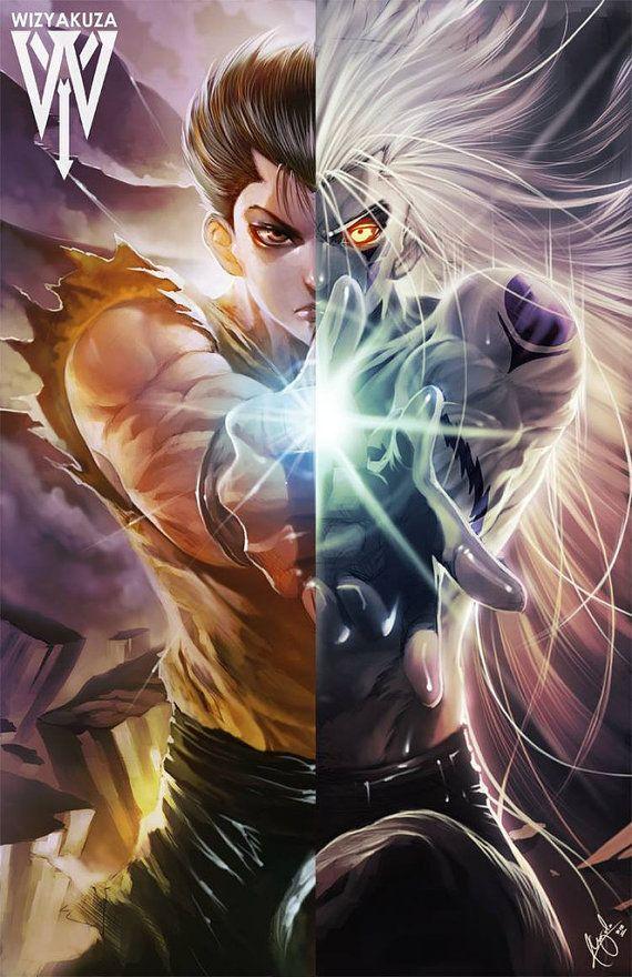 Yusuke Urameshi the Spirit Detective Yu Yu Hakusho by Wizyakuza
