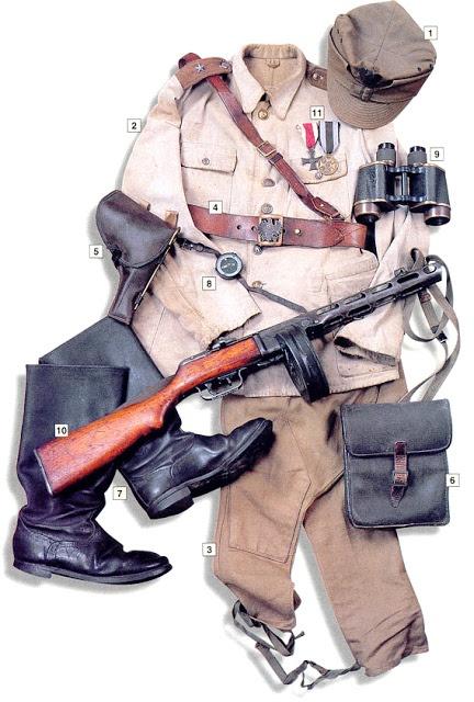 WW2 Military uniform uniform - 2nd Lt, 1st Infantry Division, Polish People's Army 1943