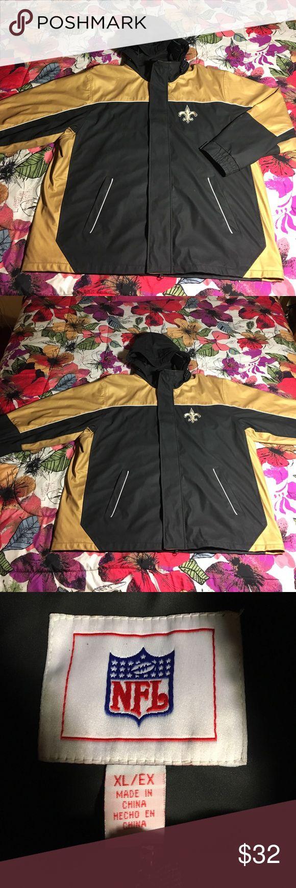 New Orlean Saints NFL Football Jacket x Coat Great NFL brand saints jacket - Size XL - Condition just about like new NFL Jackets & Coats