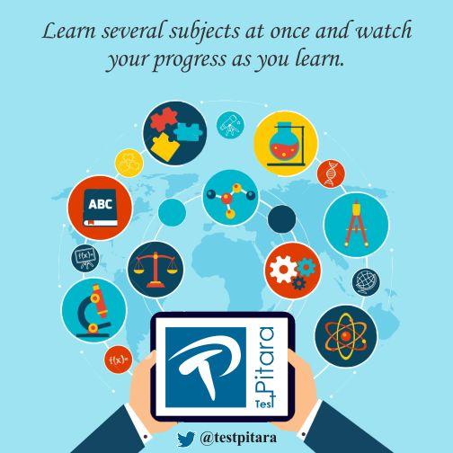 Visit TestPitara today! #KnowledgeForAll #ELearning #Exams #Tests