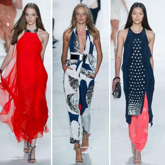 Diane von Furstenberg in the New York Fashion Week: Fashion Meets Technology