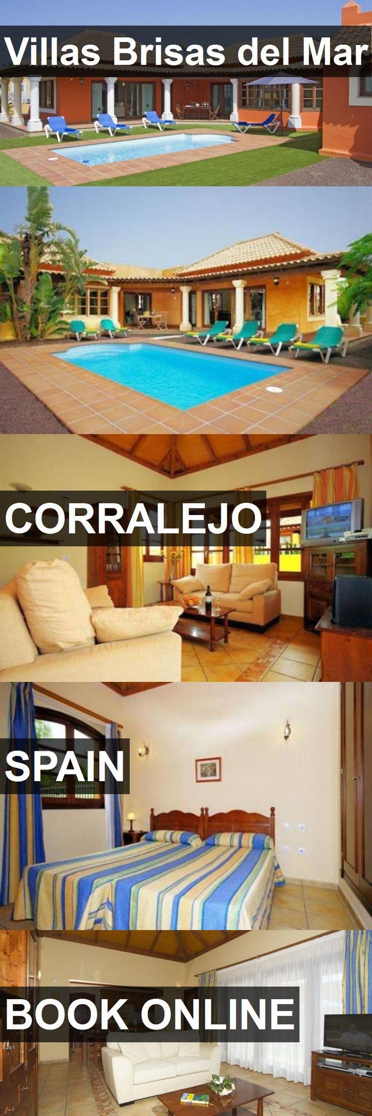 Hotel Villas Brisas del Mar in Corralejo, Spain. For more information, photos, reviews and best prices please follow the link. #Spain #Corralejo #hotel #travel #vacation