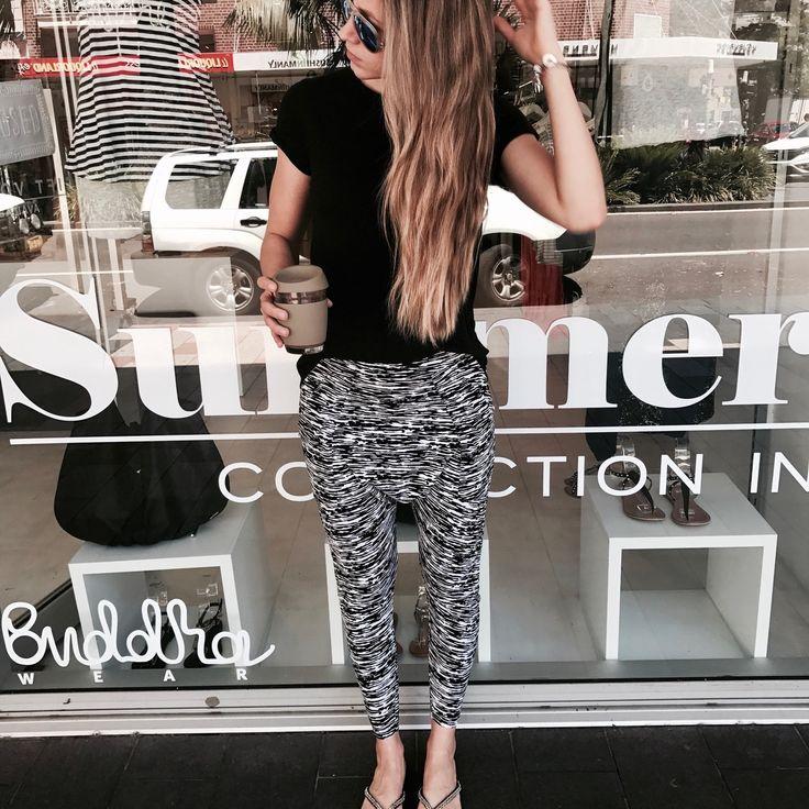 Samira Pants / Black Zebra $119.90 AUD | #buddhawear  #butfirstcoffee #womensfashion #ethical #sydney